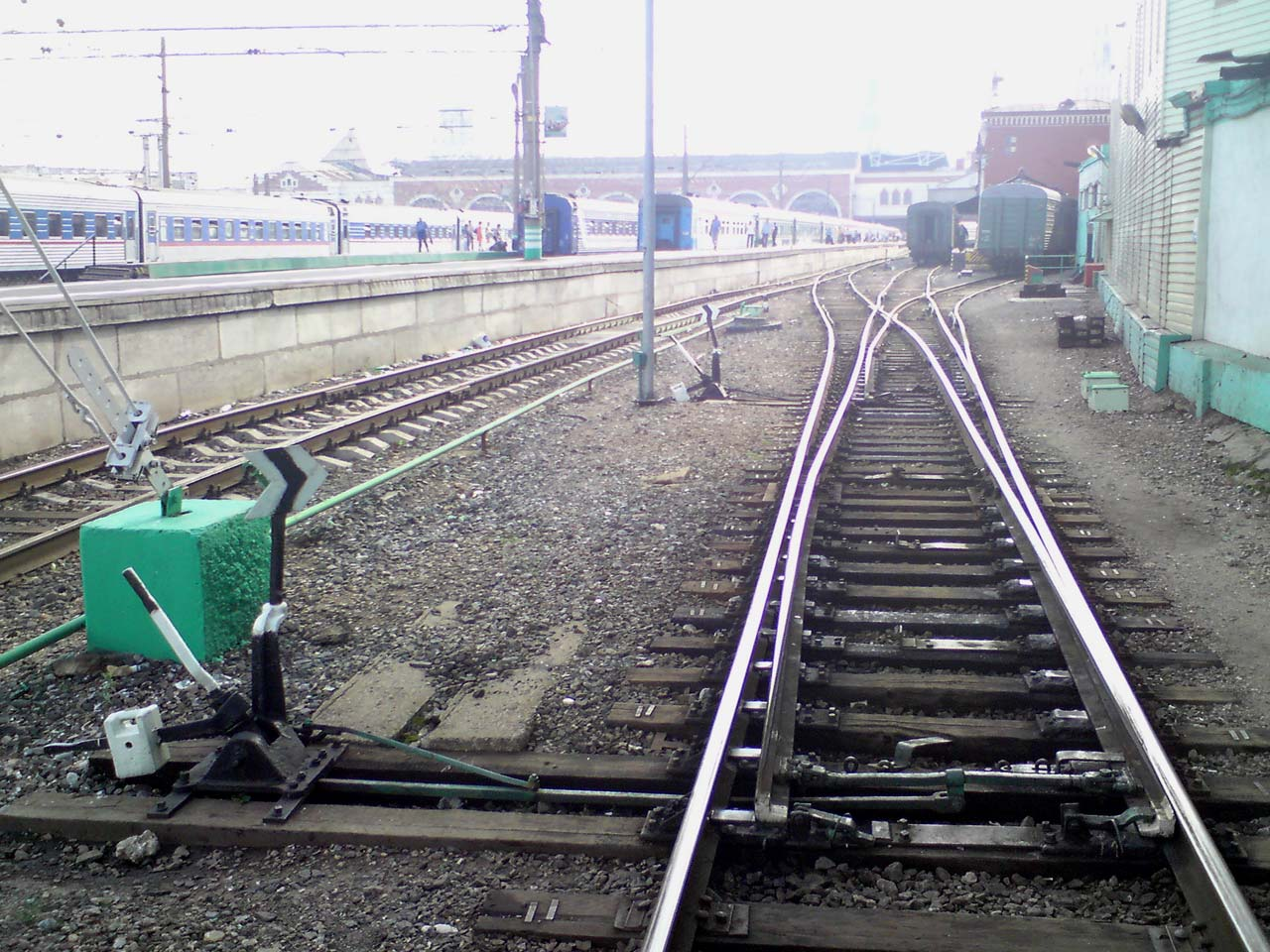 Железнодорожный путь и путевое хозяйство